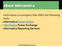 informatica server-bigclasses
