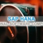 SAP HANA Software Components