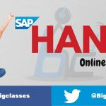 SAP HANA online training at Bigclasses