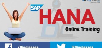 SAP-Hana online training