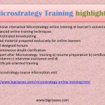 Microstrategy Business Intelligence Technology