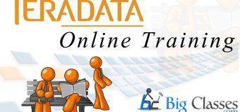 Teradata Online Training
