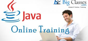 Java Online Training at bigclasses