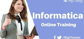 Informatica 9.6.1 online training