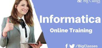 Informatica 9.5 online training