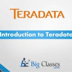 Introduction to Teradata