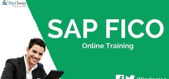 SAP FICO ONLINE COURSE