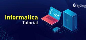 Informatica Online Free Tutorials
