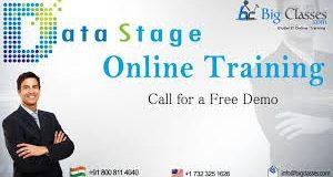 Datastage Online Training @ BigClasses Hyderabad