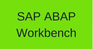 SAP ABAP Workbench | Advantages of ABAP Workbench