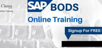 SAP BODS Online Training @ Hyderabad