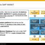 SAP HANA – In-Memory Computing