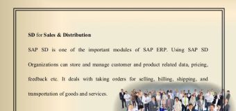 Advantages of SAP Online Training