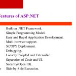 Dot Net Introduction and Features