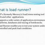Learn LoadRunner Online and Test Your Application without Human Intervention