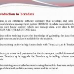 TERADATA Basics and learn online teradata