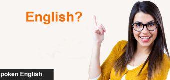 Spoken English Class Online