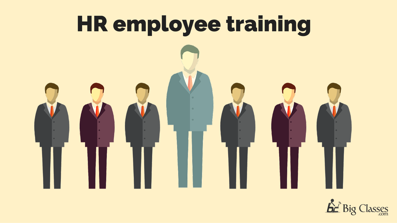 hr employee training with big data