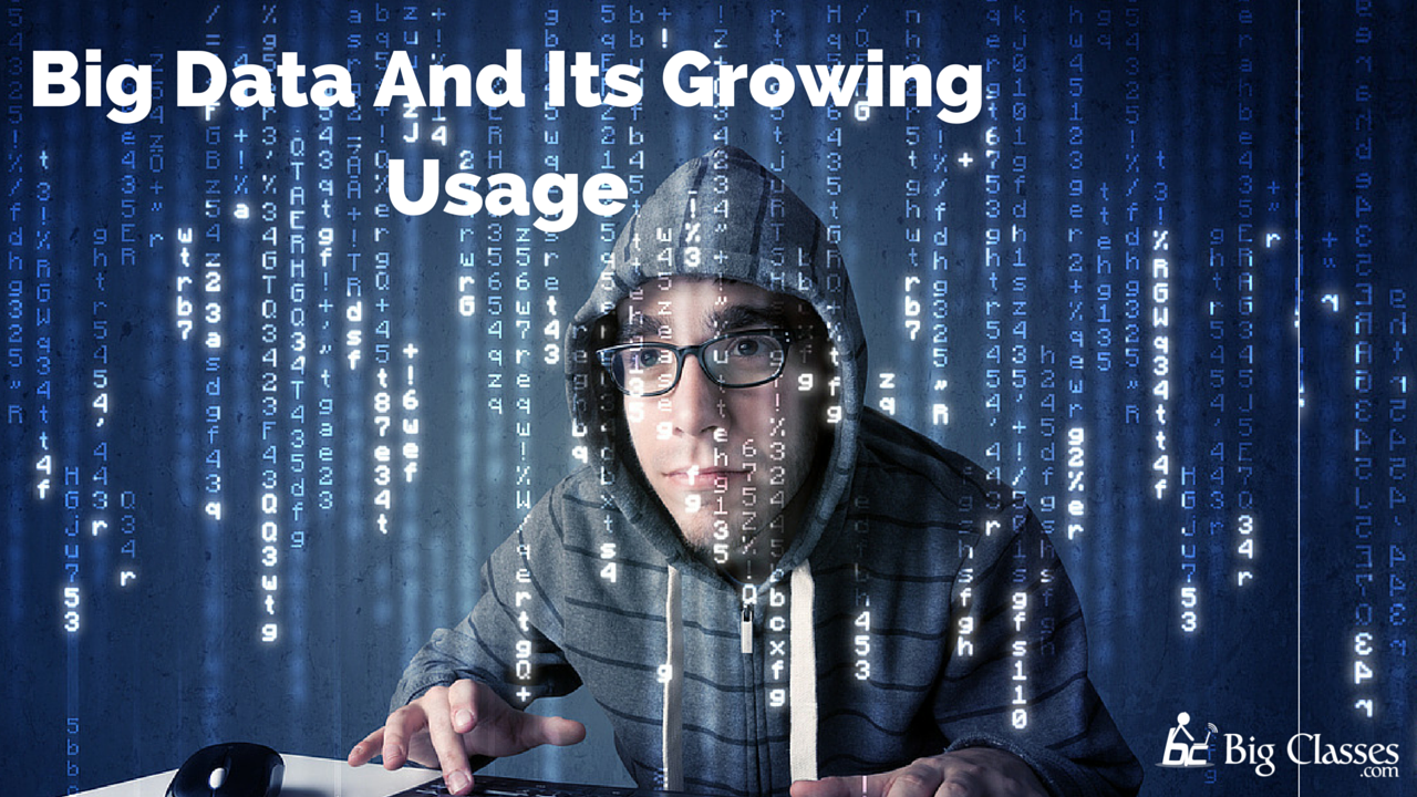 big data and growing usage