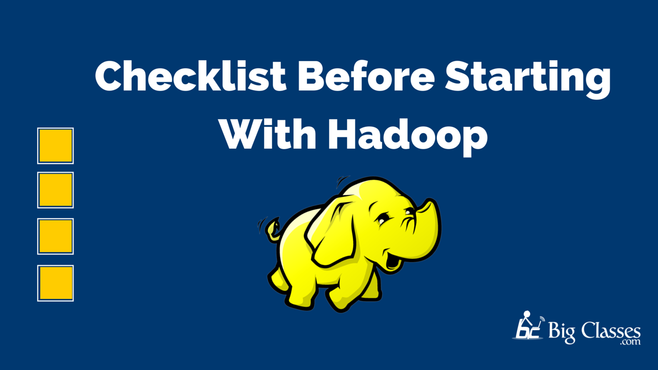 Starting With Hadoop Framework