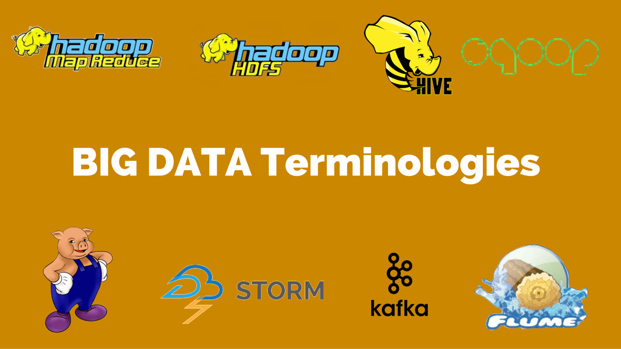 new big data terminologies