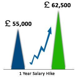 salary hike for BigData