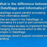What is DATA STAGE ?