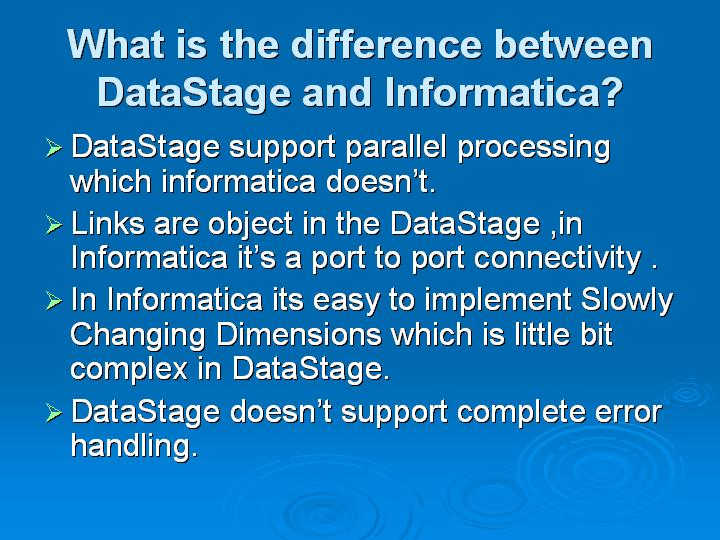 diff of datastage and informatica-bigclasses
