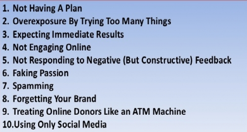 Mistakes to Avoid in Social Media Marketing-Bigclasses